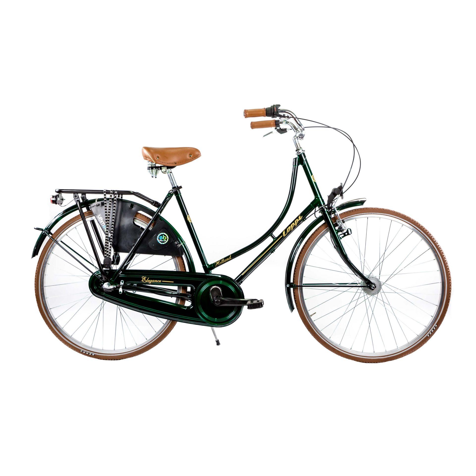 Vélo urbain Coppi Holland Nexus 3V Vert