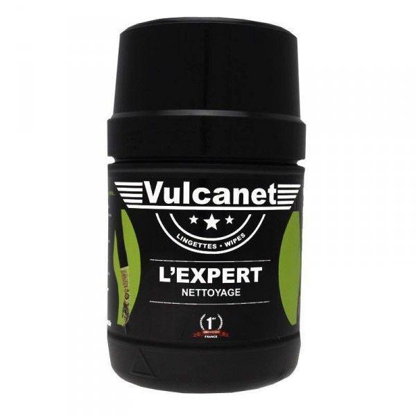Lingettes de nettoyage sans eau Vulcanet (x60)