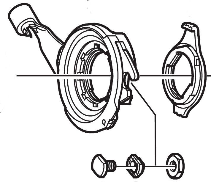 Vis Shimano serre-câble Nexus CJ-7S40
