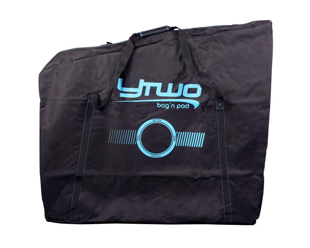 Housse de transport vélo Ytwo SofTravel Noir/Bleu